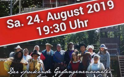 """53. Saison des NKC 1960 e.V. (2018/2019) » """"Spökenfeste"""" zur 800-Jahrfeier Neuburgs am 24.08.2019"""